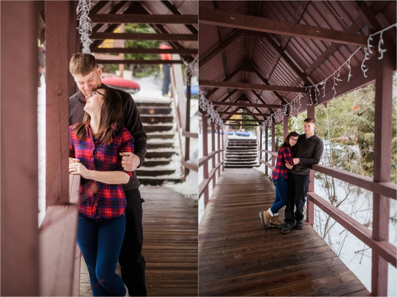 Spokane Winter Engagement Session